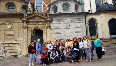 Un grup de pelerini descoperă Grecia și Italia