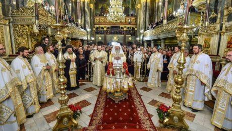 Sfinţirea picturii Catedralei Sfântul Spiridon - Nou