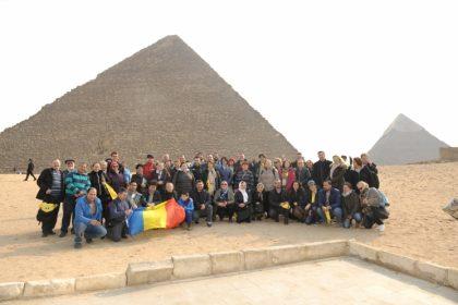 Credincioşi români din Viena - pelerini în Egipt şi Israel