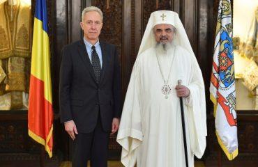 Ambasadorul Statelor Unite ale Americii la Bucureşti în vizită de prezentare la Patriarhia Română
