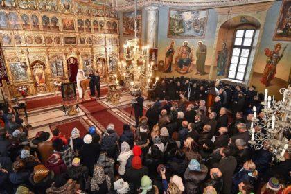 Patriarhul României la Mănăstirea Cernica
