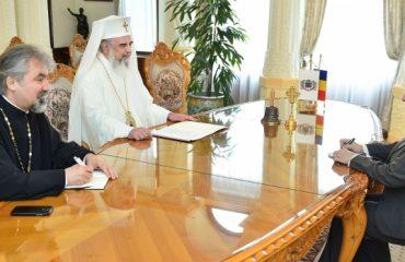 Ambasadorul Israelului la Bucureşti în vizită de prezentare la Patriarhia Română