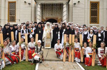 """Hramul Seminarului Teologic Liceal Ortodox """"Sfânta Filofteia"""" de la Mănăstirea Pasărea"""