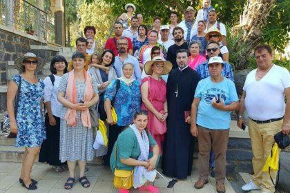 PELERINAJ IN TARA SFANTA - 17 - 22 AUGUST - COMUNITATEA ROMANEASCA DIN VIENA