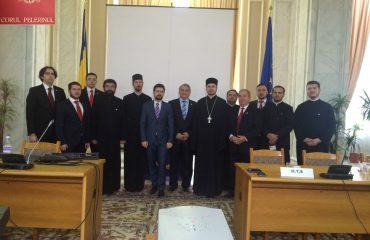 Colindători la Grupul Ecumenic de Rugăciune al Camerei Deputaților