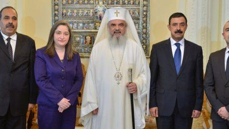 Ministrul Turismului din Palestina în vizită la Patriarhia Română