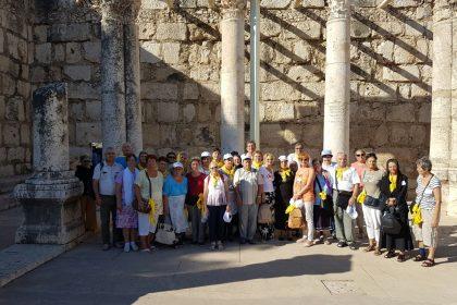 PELERINAJ PENTRU SENIORI IN ISRAEL / (23 / 27 SEPTEMBRIE 2016)