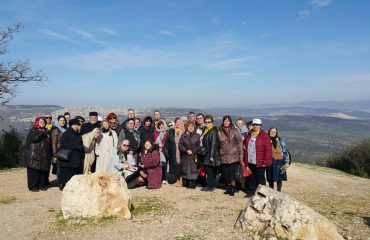 Pelerini din Arhiepiscopia Aradului
