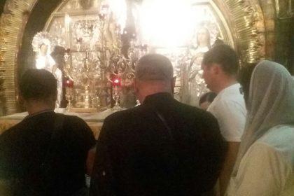 Pelerini români la Locurile Sfinte!