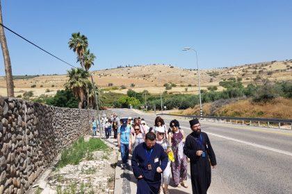Un nou grup de pelerini în Israel!