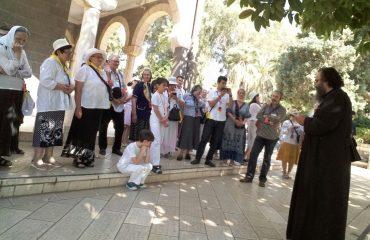 Un grup de pelerini din Făgăraș și alte părti ale țării au pășit pe meleagurile Țării Sfinte