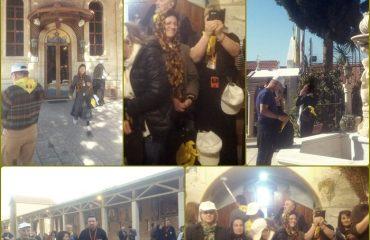 Pelerini români din Arhiepiscopia Aradului participă la un pelerinaj în Țara Sfântă